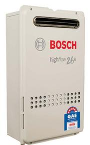 Bosch 26e instant hot water system