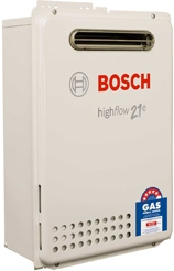 bosch 21E instant hot water system