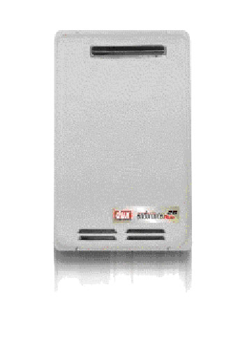 Dux 16 Litre continuous flow gas hot water unit 