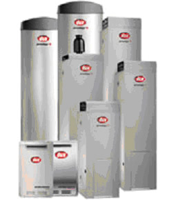 Dux range of gas hot water systems & heaters