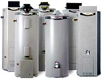 rheem heavy duty gas 260 litre, 265 litre, 275 litre storage gas hot water heaters