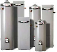 rheemglas 90 litre, 135 litre, 170 litre storage gas hot water heaters