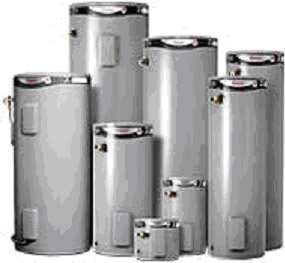 rheemglas 25 litre, 50 litre, 80 litre, 125 litre, 160 litre, 250 litre, 315 litre, 400 litre single & twin element electric hot water system