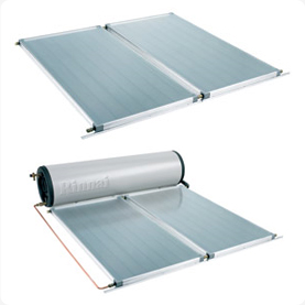 Beasley solar hot water system stainless steel tank and frost protected panels