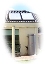Rheem Solar Loline Electric Solar water Heater brisbane gold coast