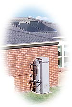 Rheem Solar Loline Gas Solar water Heater brisbane gold coast